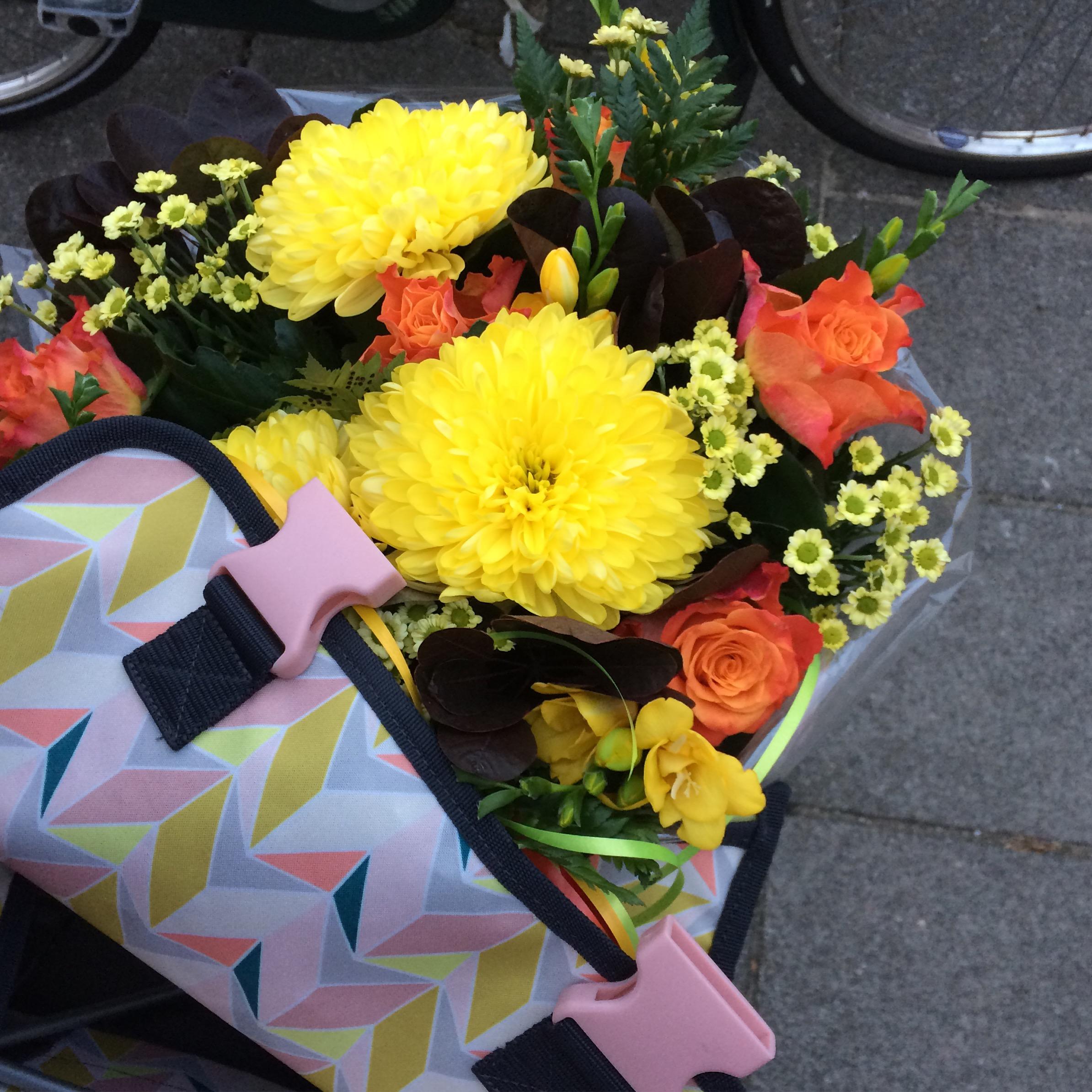Verwend met bloemen