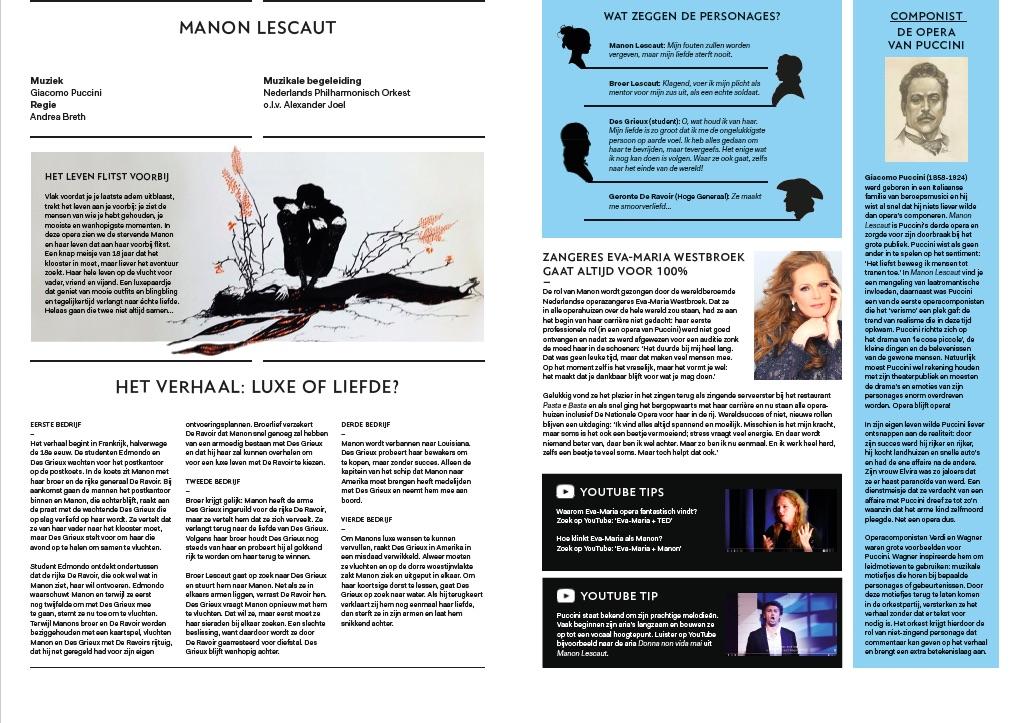 lesmateriaal Manon Lescaut